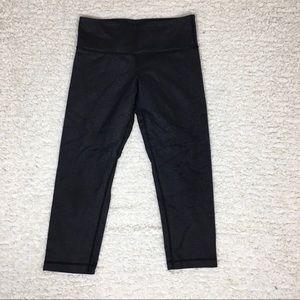 Lululemon Dark Cropped Leggings